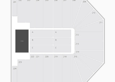 Wright State University Nutter Center Seating Chart Concert