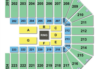 Wright State University Nutter Center WWE Seating Chart