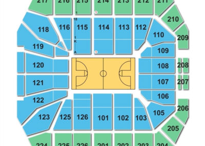 Xfinity Center Maryland Seating Chart
