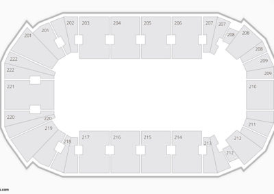Youngstown Phantoms Seating Chart